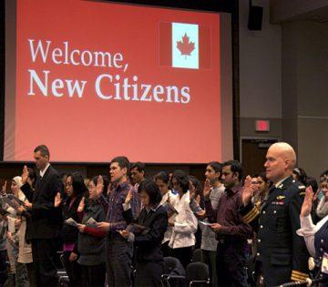 درخواست شهروندی کانادا