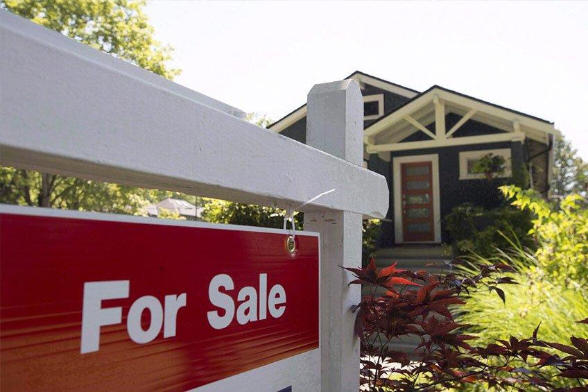 کاهش قیمت خانه در کانادا