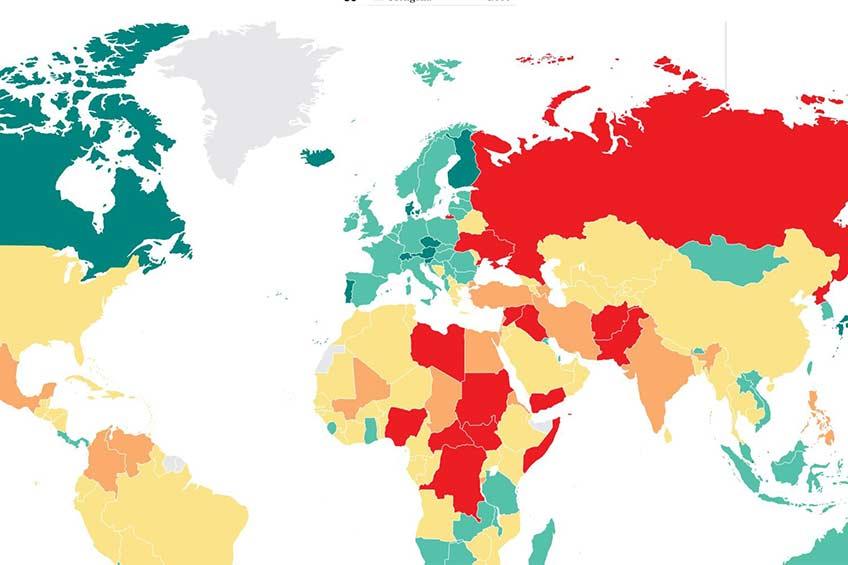 کانادا در لیست تاثیر گذارترین کشورهای جهان در سال 2021