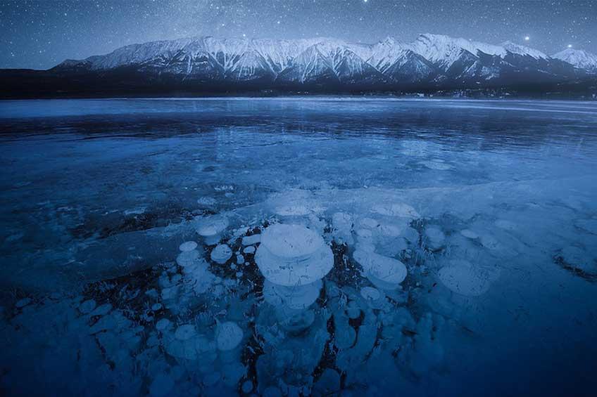 دریاچه آبراهام کانادا