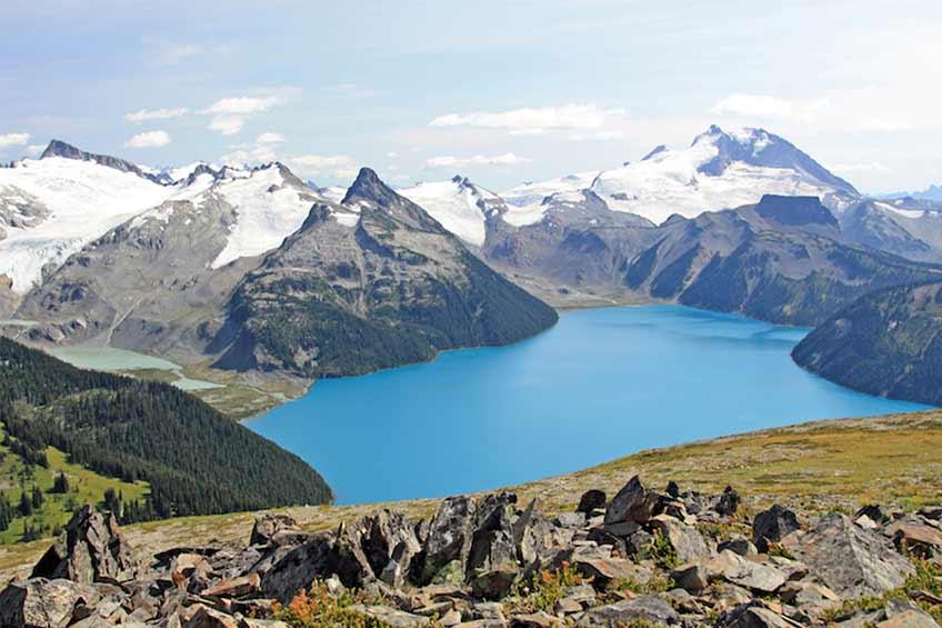 دریاچه garibaldi کانادا